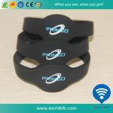Bracelet en silicone Wholesle Tags RFID avec NFC puce Ntag 213