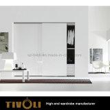 Witte Lange Garderobe met Laden en Planken voor de Kast tivo-0076hw van het Meubilair
