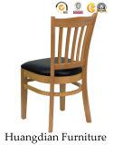 Silla de cena de madera modificada para requisitos particulares de los muebles del restaurante (HD458)