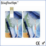 La impresión de tarjeta de visita USB personalizadas (XH-USB-012)