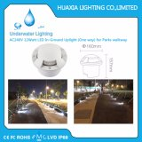 AC220V Neutral White 4500k In-Ground Uplight (One way) pour Parcs Walkway Aluminium Case