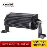 """7.5 """" 36W à double rangée de lumière LED CREE Chariot Offroad Bar"""