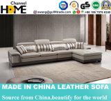 Sofá de cuero comercial clásico moderno europeo (HC2080)