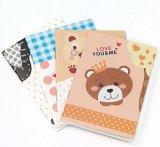 Papiereinbandes kundenspezifisches farbenreiches gedrucktes Notizbuch