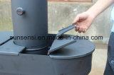 Fogão de pellets de madeira (exterior)