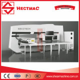Punzonadora de la torreta del CNC, punzonadora de agua del calentador del orificio solar de la producción Line/CNC
