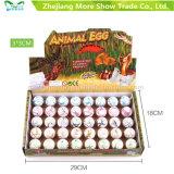 Nuovi crescenti giocattoli rotondi magici dell'uovo da cova delle uova di Dinasour dell'animale domestico