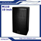 Système de haut-parleur professionnel de salle de conférence de contact des bons prix de 10 pouces par Factory (M110 - TACT)