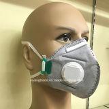 Mascherina di polvere a gettare non tessuta con carbonio attivo per industria