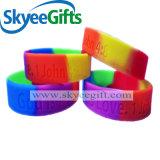 Braccialetto poco costoso della gomma di silicone di prezzi dei regali promozionali