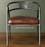 Silla de hierro Resaturant café para el hogar muebles