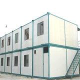 Camera prefabbricata d'inquadramento del contenitore dell'acciaio chiaro