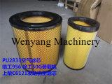 Shangchai C6121のエンジン部分エンジンのエアー・フィルタ