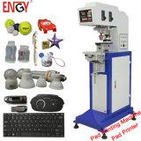 Einzelne Farbe Inkcup Tampo Druck-Auflage-Drucken-Maschine für Kontaktlinse En-C125/1
