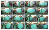 envoltório fundido da ensilagem da cor verde de 250mm
