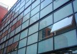 단단하게 한 Tempered 사려깊은 건축 격리된 착색된 박판으로 만들어진 비거나 격리하거나 부드럽게 한 외벽 건물 유리 (JINBO.)