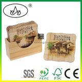 Louças de bambu para o tapete de mesa/Placemat/Coasterlc-982b