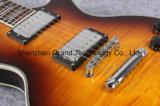 Acabamento de luxo estilo Lp chá gelado de mogno guitarra eléctrica (BPL-54)