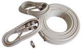 Câble coaxial (RG6 avec connecteur F)