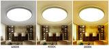 Iluminación moderna casera redonda tan popular de la lámpara de las luces de techo del LED para el dormitorio/la sala de estar en garantía 2 años