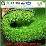 庭の製造業者を美化するフットボールのための安い人工的な草のカーペット/人工的な草のタイルまたは人工的な泥炭の草