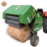최고 질 농업 옥수수 사일로에 저항한 꼴 판매를 위한 소형 둥근 건초 장비 포장기