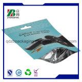 Il di alluminio del commestibile si leva in piedi in su il sacchetto di imballaggio di plastica
