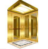 1600kg para la elevación del pasajero de 23 personas con final de oro del espejo