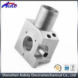 Alta precisión que muele la pieza de aluminio que trabaja a máquina del CNC para el espacio aéreo
