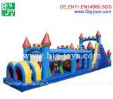 大きい楽しみの子供及び大人のための膨脹可能な障害ゲーム