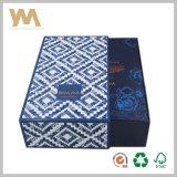 Rectángulo de papel del almacenaje del cajón del regalo de la alta calidad para el vino