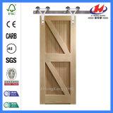 Cabinet en bois intérieur de Chambre glissant les portes de grange (JHK-SK10)