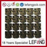 4 camadas de Circuito Impresso PCB de ouro de imersão para transmissão de dados
