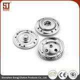 Botón individual del broche de presión del metal de Monocolor de los accesorios de la ropa de Porfessional