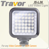 Con 36 LED PC Professional-L36 PRO Videocámara cámara caliente de luz LED
