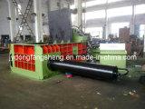 Sucata hidráulica Enfardadeira com controlo PLC do Compactador