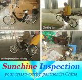 E-fiets QC de Diensten van de Inspectie in Zhejiang, Guangdong, Jiangsu en Tianjin
