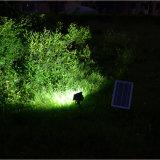 4000mAh 건전지를 가진 태양 플러드 빛 옥외 12 LED 6V 6W 등화관제 태양 안전 빛