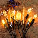 포도 수확 Edison 전구 필라멘트 빛 전구 할로겐 램프
