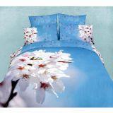高品質3D 100%年のPolyester Bed Sheet
