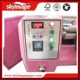 машина передачи тепла барабанчика ролика давления масла размера 420mm*1.2m