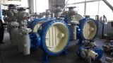 Doppia valvola direzionale di sigillamento del metallo Dn3000 con collegamento a pulizia automatica per il sistema di circolazione dell'acqua