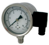 Manómetro de presión de prueba de explosión con el transmisor (B-0008)
