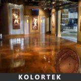 Colori della pavimentazione di effetto della perla per il pavimento dell'epossidico di coloritura