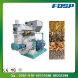 SGS buena estabilidad de pellet combustible Cáscara de maní que hace la máquina