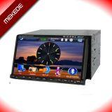 Двойной DIN DVD плеер с помощью меню 3D+GPS + TV+Bt+RDS