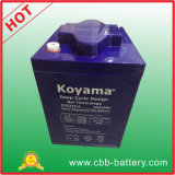 6V 225ah Deep Cycle Gel Battery für Golf Cart