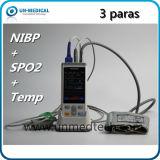 USBが付いている携帯用パルスの酸化濃度計: SpO2、NIBP&Temp