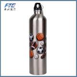L'alluminio dell'OEM mette in mostra la bottiglia di acqua dell'OEM della bottiglia
