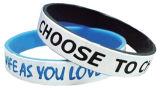 Wristband Dossed del silicone per gli sport
